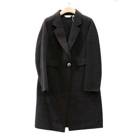 易菲 合体长款双面呢大衣 1809D401 假日随行 2018秋季新款