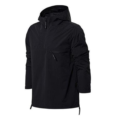 李宁 18年新款 男子篮球系列运动风衣 夹克外套 AFDN093 标准黑