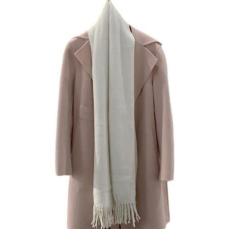佧西文 秋冬围巾 15818711510 奶白色
