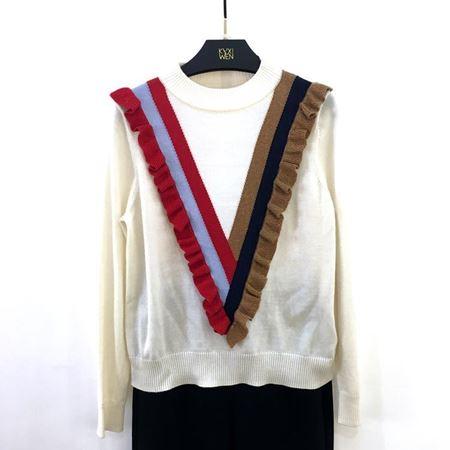 佧茜文 线衫(针织品) 17810A7521115 白色