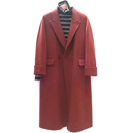 易菲 宽松双面呢大衣 1810D402 2018年冬季新款
