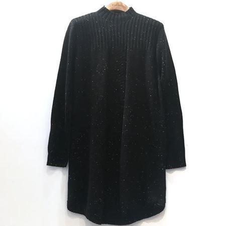 易菲 宽松中长款毛衫 1812M027 塞外的歌声 2018年冬季新款