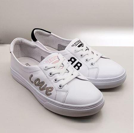 富贵鸟 2019春季新款女鞋 FW9120910 白色