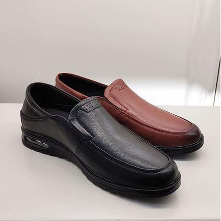 富贵鸟 2019春季新款男鞋FM9113127 黑色/棕色