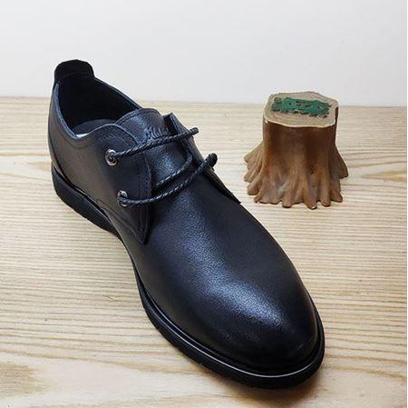 木林森 2019春季新款男鞋 CM91H15311 黑色