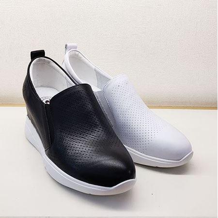 骆驼 2019春季新款女鞋休闲鞋A191508130 黑色/白色