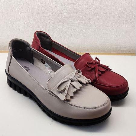 骆驼 2019春季新款女鞋休闲鞋A191205099 米色/红色