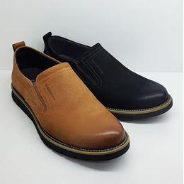 卡丹路 2019春季新款男鞋SQ180800301 黑色/棕色