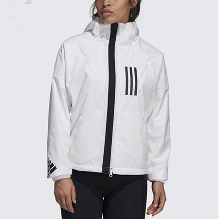 阿迪达斯官方 W adidas W.N.D. JKT FL女子运动型格夹克DZ0033