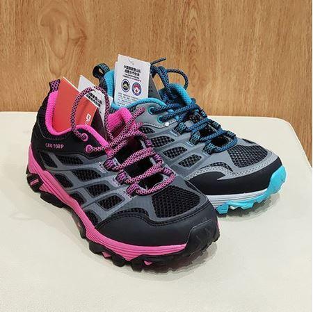 肯拓普女式徒步鞋8111686288 黑色/深灰