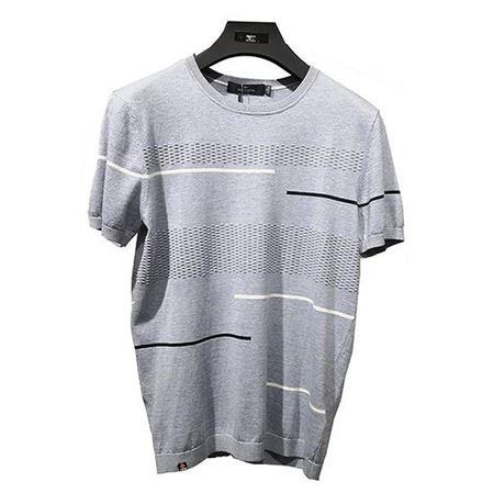 七匹狼2019年春季新款针织衫111910802552 灰色