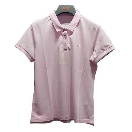 Jeep女士短袖POLO衫 J922184520 贝壳粉