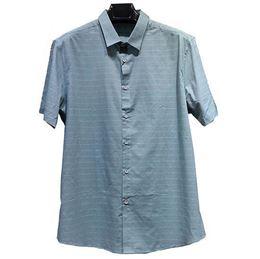 马可·莱登休闲衬衫2807 绿/蓝 100%棉 2019夏季新款特惠