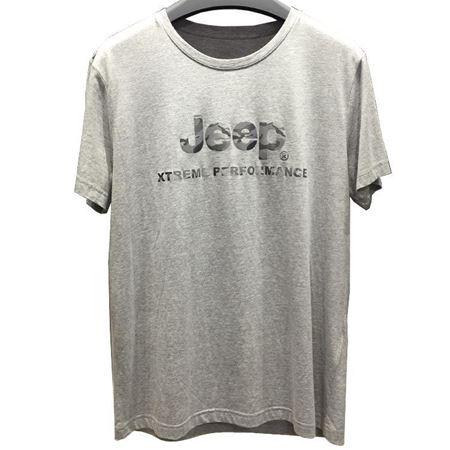 Jeep 男式短袖T恤衫 J822194551 浅花灰 2019夏季新款