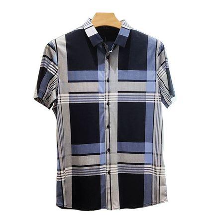 培罗蒙休闲衬衫93039 100%棉(双丝光棉)2019夏季新款