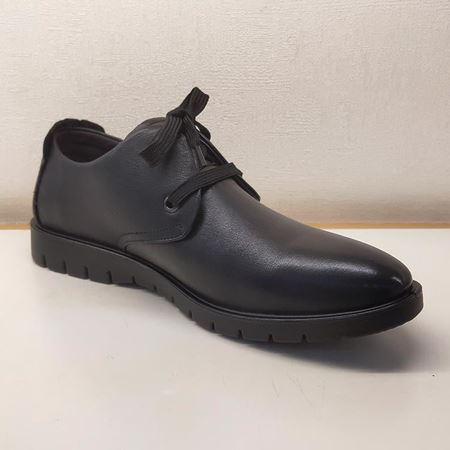 骆驼男式系带皮鞋 A293253069 黑色 2019秋季新款