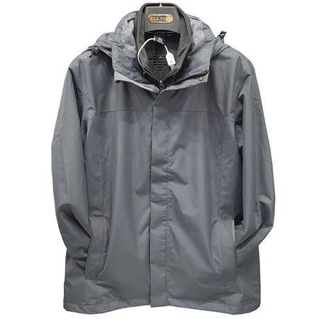 肯拓普男式软壳两件套冲锋衣C142894016 深灰 2019秋冬新款