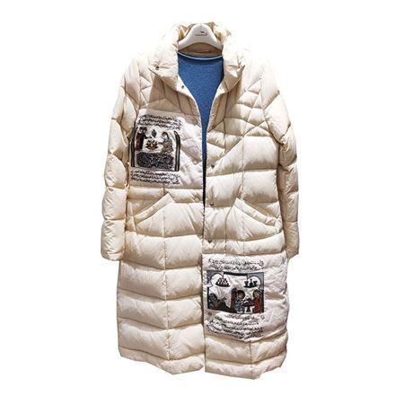 依伽依佳羽绒服YJDY433 米 白鸭绒(90%)羽绒服 2019冬新款