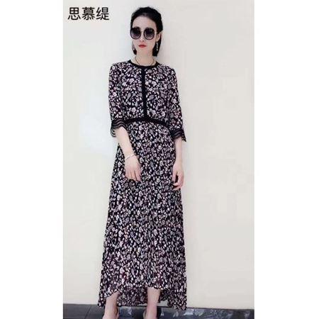思慕缇2020夏季新款 长款连衣裙SK128012-A6