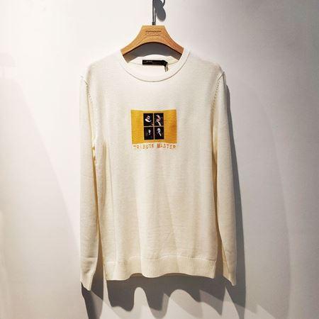 KIKC男长袖毛衣A2B060357 02米白色 2020年春季新款