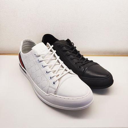 骆驼男鞋A201258032白色、黑色