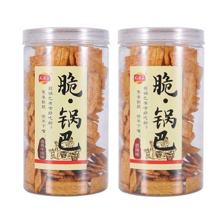 新品尝鲜 武老三脆·锅巴240g 罐装