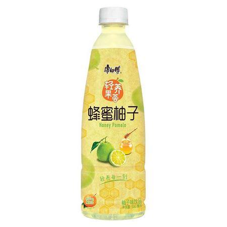 图片 康师傅 蜂蜜柚子500mL 果汁果味饮料轻养果荟