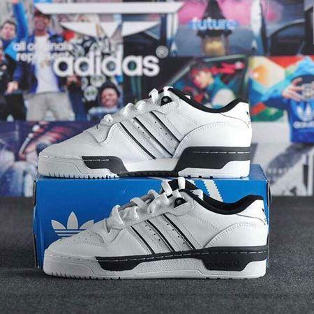 图片 阿迪达斯adidas三叶草男鞋20夏季新品时尚运动鞋皮革低帮透气小白鞋休闲鞋板鞋